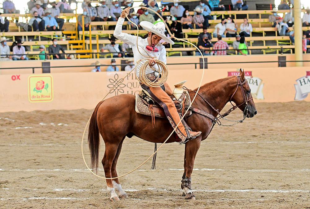 Enrique Jiménez fue el mejor elemento de los Charros de Cuauhtémoc, sumando 114 puntos de forma particular